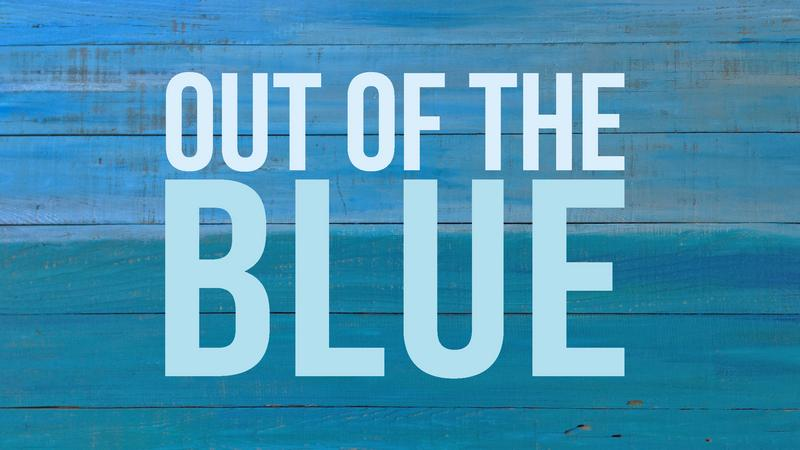 Out of the Blue series graphic